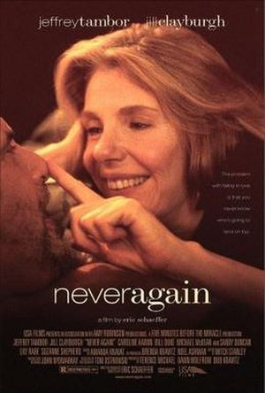 Never Again (2001 film) - Theatrical release poster