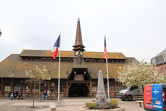 Étretat - The old Covered Market in Étretat