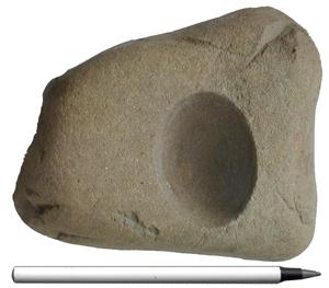 Cupstone - Omar with hemispherical bubble