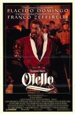 Otello (1986 film) - Theatrical release poster