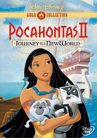Pocahontas II: Journey to a New World - The DVD Cover