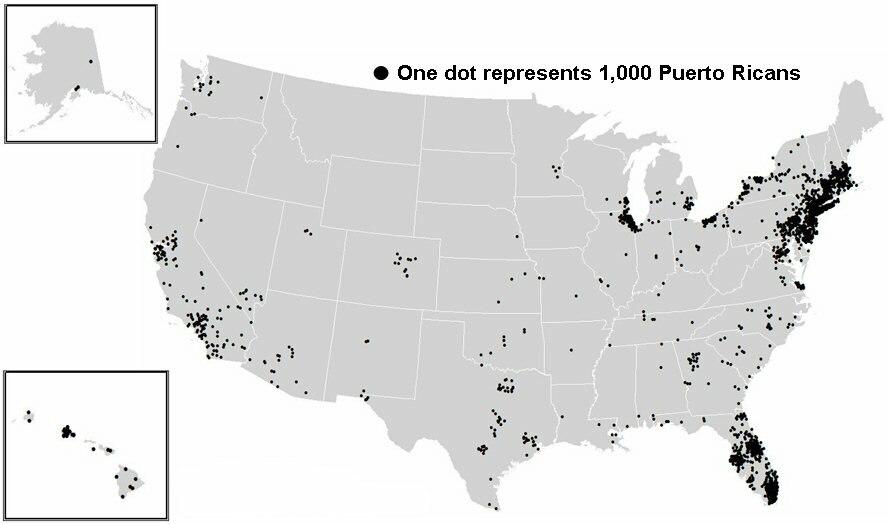 PR National Dots Map