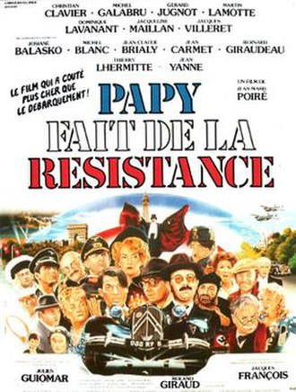 Gramps Is in the Resistance - Theatrical release poster