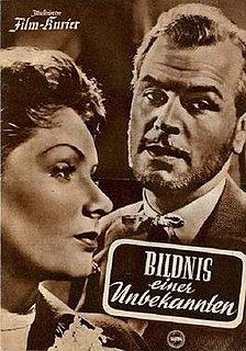 <i>Portrait of an Unknown Woman</i> (film) 1954 film