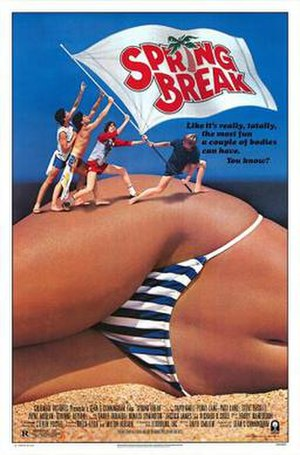Spring Break (film) - Theatrical release poster