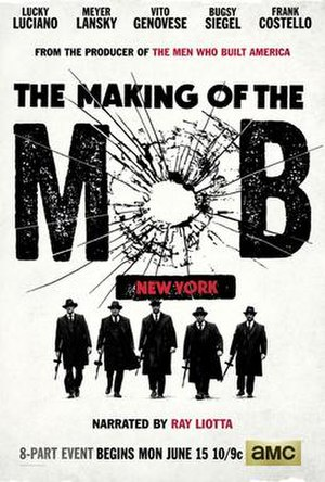 Selwyn raab wikivividly the making of the mob new york image promotional poster for the making fandeluxe