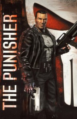 The Punisher (2005 video game) - PlayStation 2 cover art
