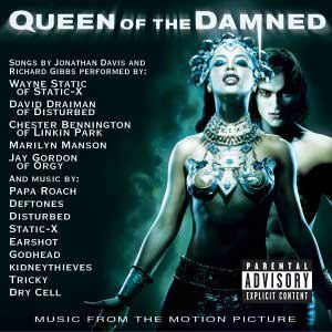 Queen of the Damned: Music from the Motion Picture - Image: Qot Dcover