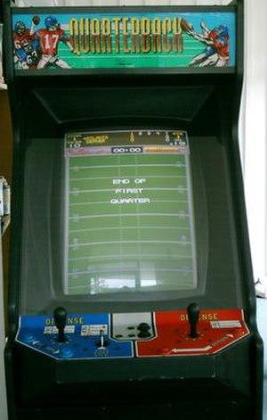 Quarterback (video game) - Image: Quarterback Front