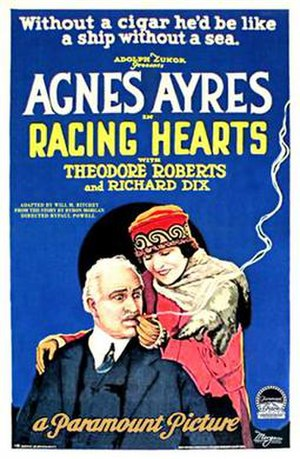 Racing Hearts - Theatrical release poster