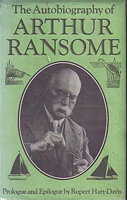 Cover of Arthur Ransome's autobiography