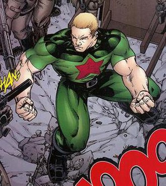 Red Star (comics) - Image: Red Star TT38