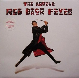 Red Back Fever - Image: Red Back Fever by The Angels cover of red vinyl LP