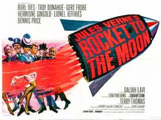 Jules Verne's Rocket to the Moon - Image: Rocket to the Moon UK Cinema Poster