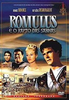 <i>Romulus and the Sabines</i> 1961 film by Richard Pottier