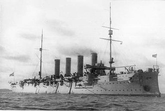 Russian cruiser Rossia - Image: Rossiya After 1906