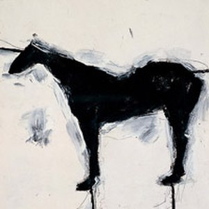Susan Rothenberg - Untitled (Horse) 1979 Susan Rothenberg's painting