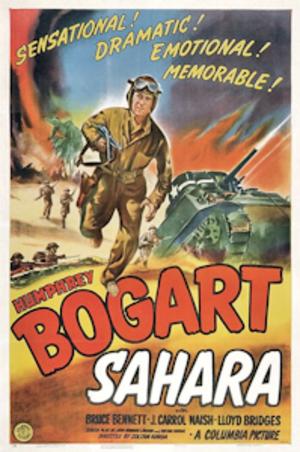 Sahara (1943 American film) - Theatrical poster