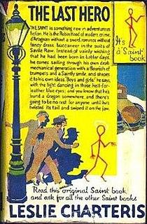 <i>The Last Hero</i> (The Saint) novel by Leslie Charteris