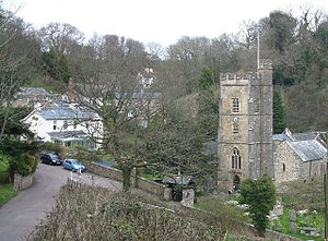 Salcombe Regis - Image: Salcombe church
