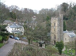 Salcombe Regis village in United Kingdom