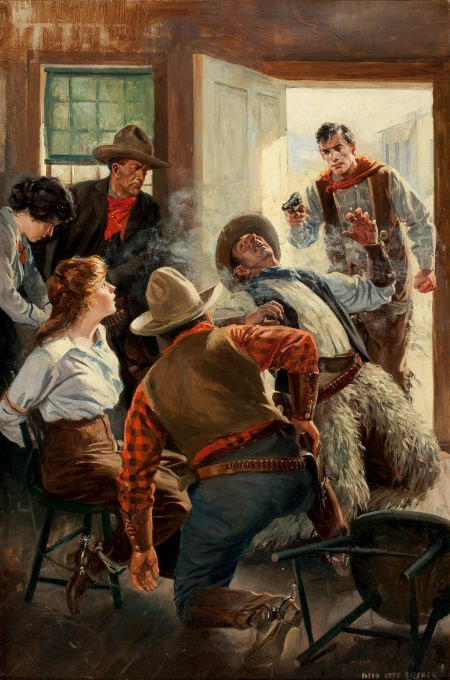 Saloon Shoot Out, 1919