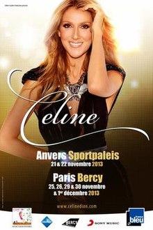 concert celine dion 2018 paris