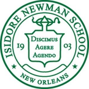 Isidore Newman School - Image: Seal of Isidore Newman School