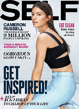 Self magazine cover