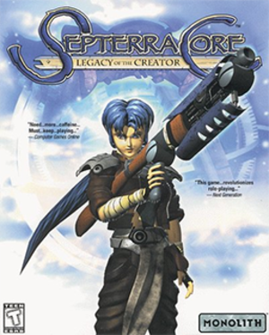 Septerra Core - Image: Septerra Core Legacy of the Creator Coverart