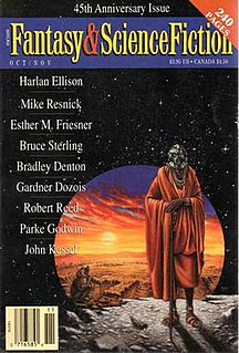 Seven Views of Olduvai Gorge novella by Mike Resnick