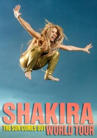 The Sun Comes Out World Tour - Image: Shakira The Sun Comes Out World Tour