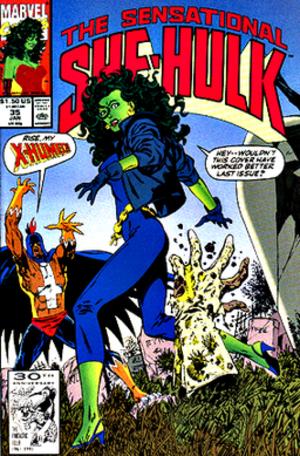 Black Talon (comics) - Image: Shehulk 35