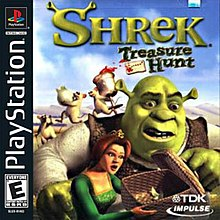 shrek treasure hunt wikipedia
