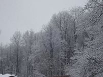 First major snowstorm in DuBois, Pa