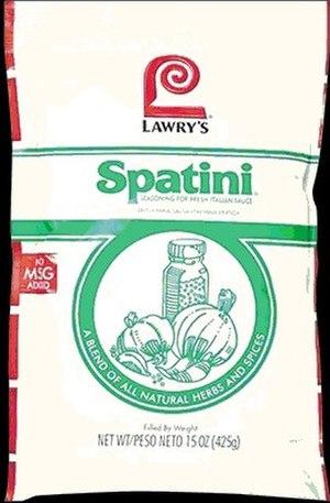Spatini sauce - Spatini sauce packet