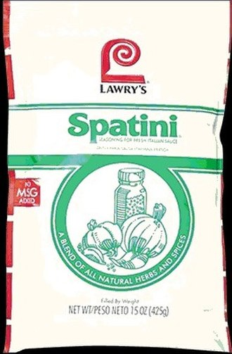 Spatini sauce - Spatini sauce packet