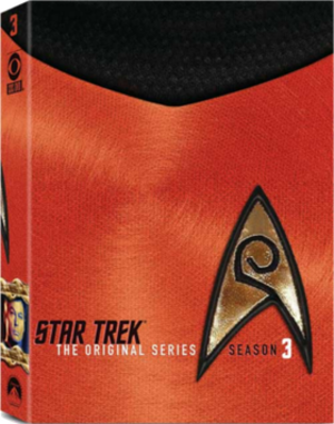 Star Trek: The Original Series (season 3) - DVD cover