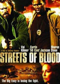 <i>Streets of Blood</i> 2009 film directed by Charles Winkler