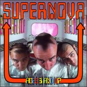 Supernova (American band) - Cover of Supernova's 1995 album Ages 3 & Up (left to right: Jodey Lawrence, Art Mitchell and Dave Collins)