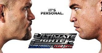 The Ultimate Fighter: Team Liddell vs. Team Ortiz - Image: Team Liddell vs Ortiz TUF poster