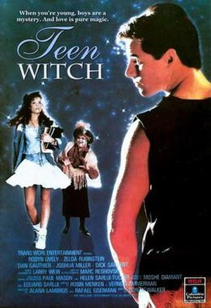 Teen Witch - Home video cover, also used for a theatrical release poster