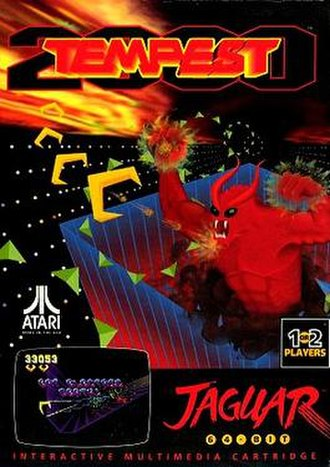 Tempest 2000 - Original Atari Jaguar cover art in all regions
