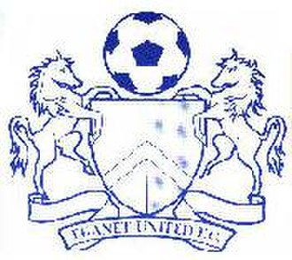 Margate F.C. -  Thanet United badge