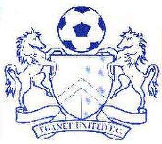 Margate F.C. -  Thanet United badge