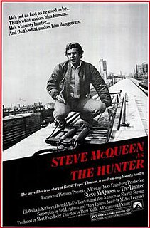 <i>The Hunter</i> (1980 film) 1980 American thriller film directed by Buzz Kulik