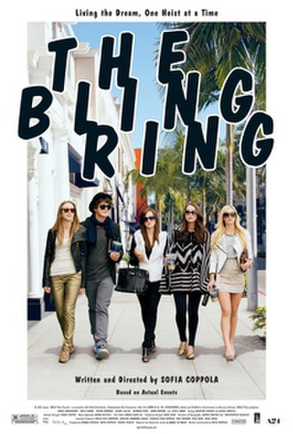 The Bling Ring - Theatrical release poster