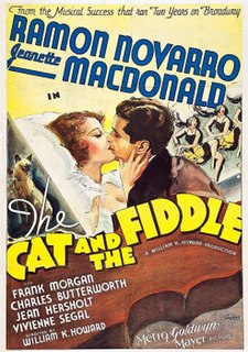 <i>The Cat and the Fiddle</i> (film) 1934 film by Sam Wood, William K. Howard