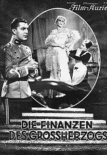 <i>The Grand Dukes Finances</i> (1934 film) 1934 film by Gustaf Gründgens