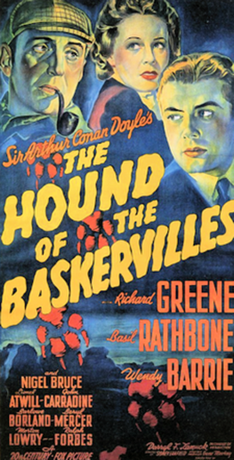 The Hound of the Baskervilles (1939 film) - Theatrical release poster